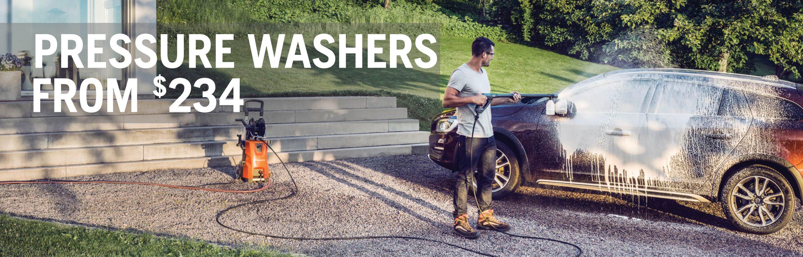 Spring 2020 - Pressure Washers